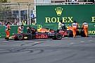 """Red Bull condena acidente em Baku: """"Ambos estão errados"""""""