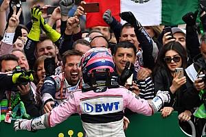 VIDEO: así festejó Sahara Force India con Sergio Pérez
