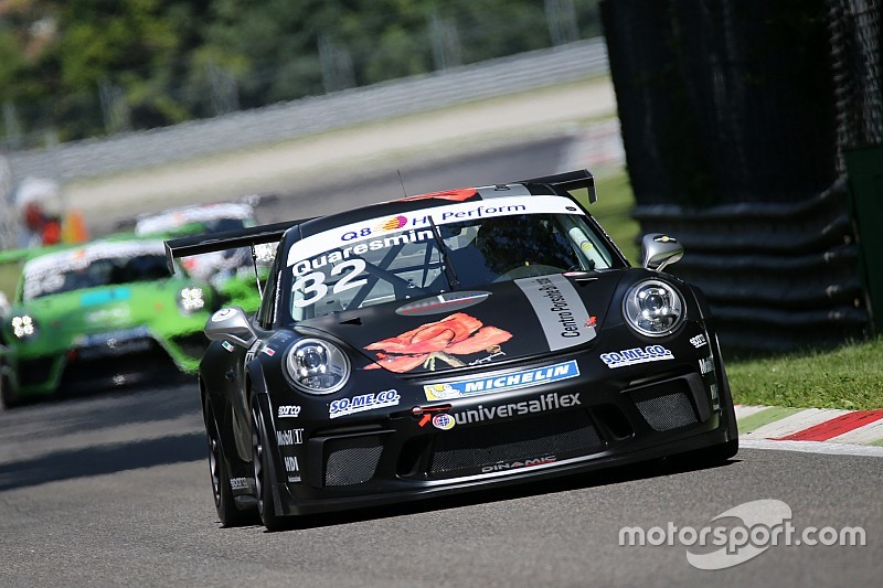 Carrera Cup Italia, a Monza prove libere a ritmo di Quaresmini