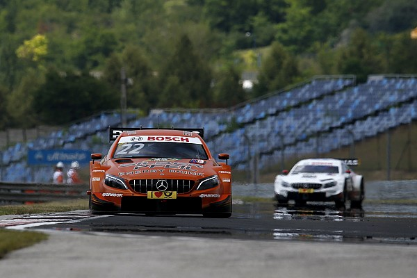 Hungaroring DTM: Auer on pole as Mercedes dominates