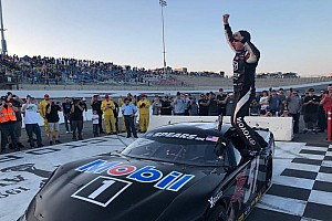 NASCAR Breaking news Kyle Busch wins Winter Showdown at Kern County Raceway