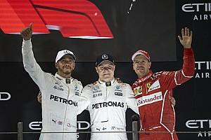Hamilton y Vettel prefieren el viejo logo de la F1