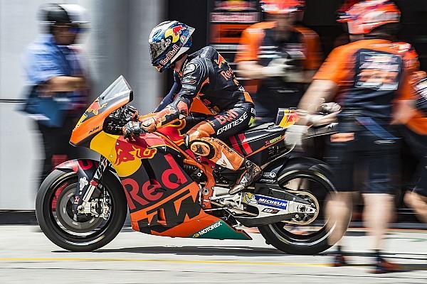 KTM sürücüleri takımın gelişiminden memnun
