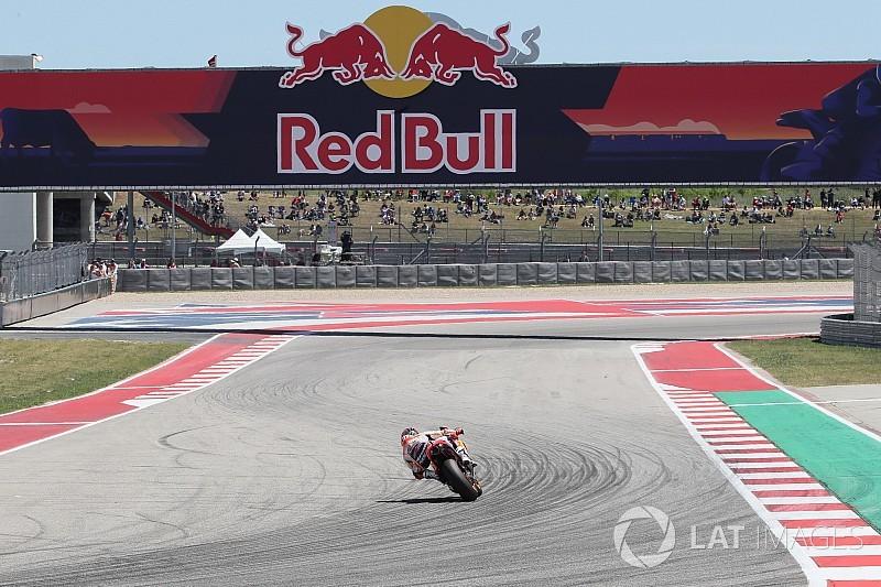 GALERI: Aksi sesi balapan MotoGP Amerika