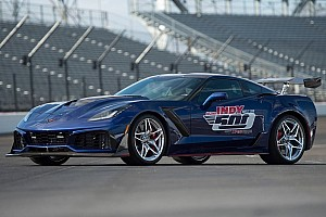 Automotive Breaking news 2019 Corvette ZR1 is Indy's most powerful pace car ever