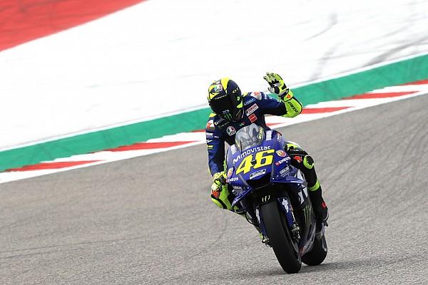 """MotoGP Reactions Rossi prevê batalha """"selvagem"""" pelo pódio nos EUA"""