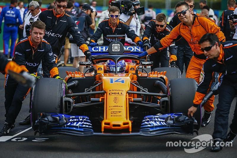 Alonso: Spa, McLaren için zor geçecek