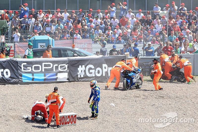 Balapan MotoGP 2018 dengan kecelakaan terbanyak