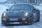 Automotive Porsche 911 GT3 RS facelift spied completely free of camouflage
