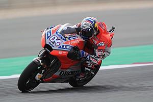MotoGP Trainingsbericht MotoGP Katar: Dovizioso am Freitag Schnellster vor Petrucci
