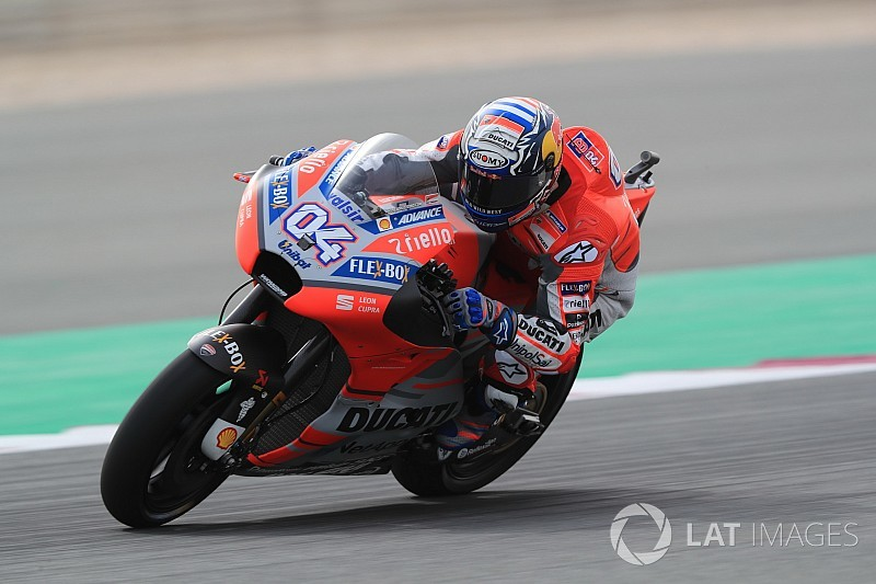 Qatar MotoGP: Dovizioso pips Rossi in first practice of 2018