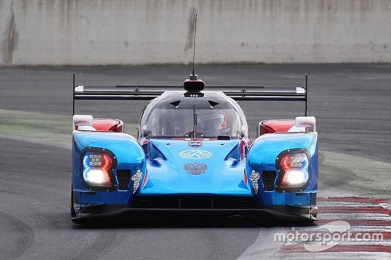Button realiza su primera prueba con el LMP1 de SMP