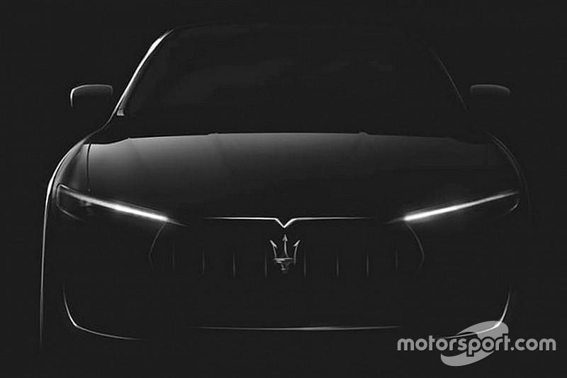 Teaser: eerste SUV van Maserati debuteert over twee weken