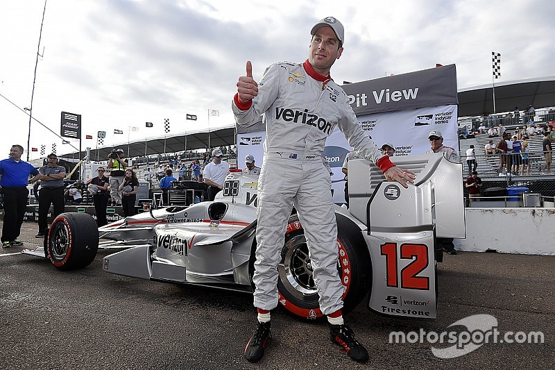 Power logra la pole en San Petersburgo y  Penske el 1-2-3-4