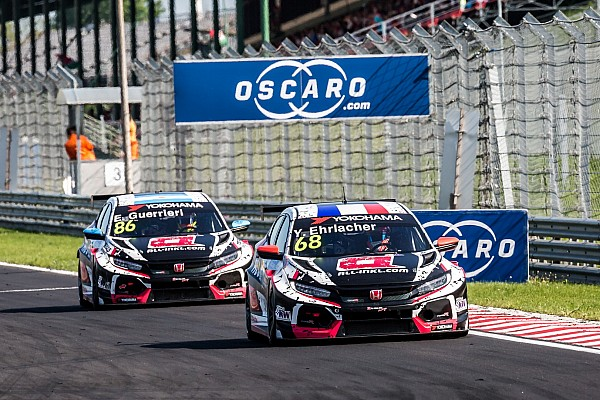 WTCR Hungary WTCR:  Ehrlacher leads Honda 1-2 in Race 1