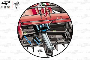 Fórmula 1 Análisis Un nuevo secreto técnico de Ferrari