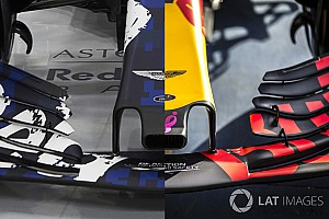 Exkluzív összehasonlítás a Red Bull 2017-es és 2018-as autója között: RB13 Vs. RB14