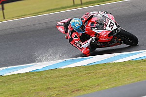 World Superbike Race report Phillip Island WSBK: Melandri passes Sykes to win opener