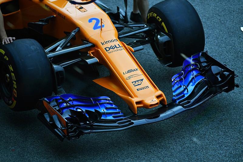 Radikale Frontpartie: McLaren mit ausgefallener Nase zum Erfolg?