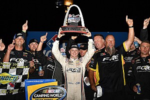 NASCAR Truck Special feature GMS Take on Trucks: Justin Haley's first win a
