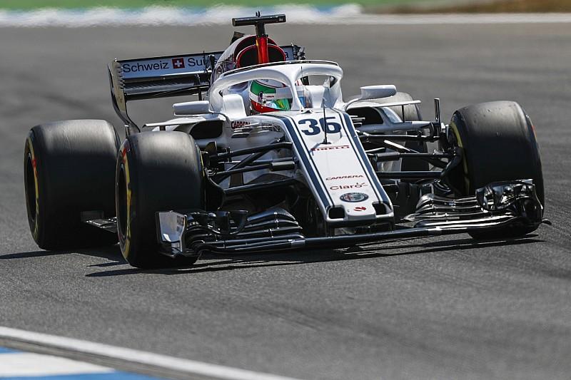 Sauber, 2019 için Giovinazzi ile ilgileniyor