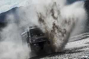 Дакар Отчет об этапе Николаев вернул лидерство в зачете грузовиков. Он выигрывает секунду