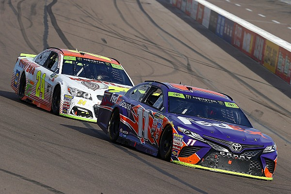 No winners as Chase Elliott and Denny Hamlin tangle again