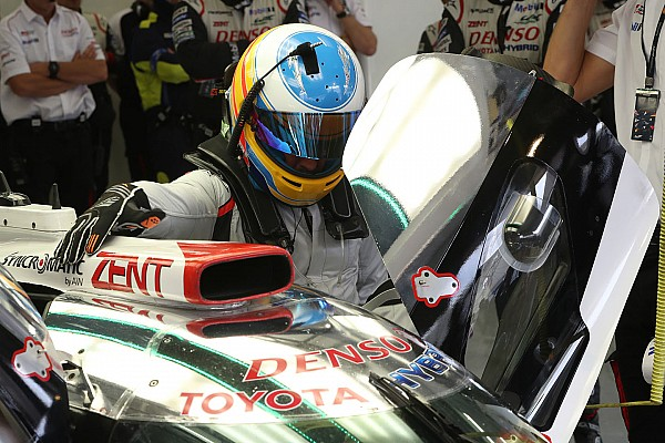 WEC Reporte de pruebas Alonso ya manejó el Toyota LMP1 del WEC en Bahrein