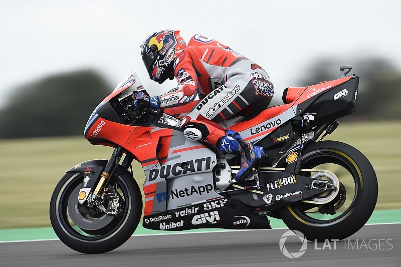 "Ducati ""scary"" to ride in Argentina practice - Dovizioso"