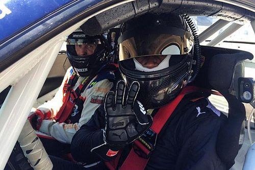 Усейн Болт принял участие в тестах Porsche GT3