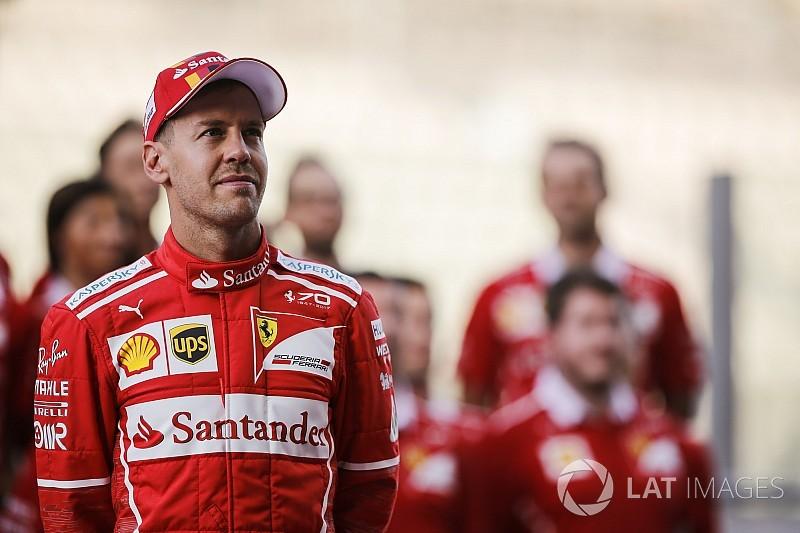"""Sebastian Vettel scherzt: 2018 wird """"ein Spaziergang"""""""