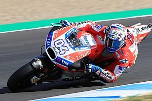 MotoGP Crónica de test Dovizioso cierra el año en Jerez a ritmo de récord