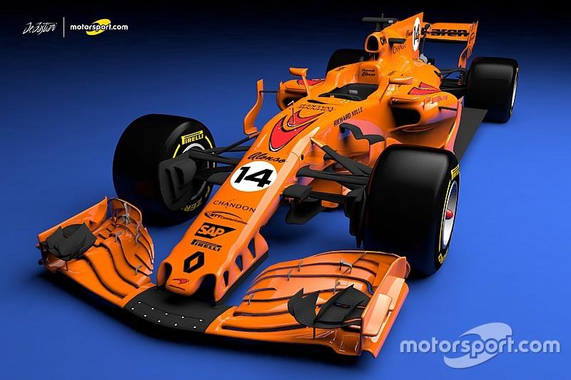 2018 mclaren f1. wonderful 2018 what a papaya orange 2018 mclaren f1 car could look like and mclaren f1