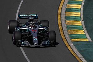 Hamilton trapt seizoen 2018 af met snelste tijd, Verstappen derde