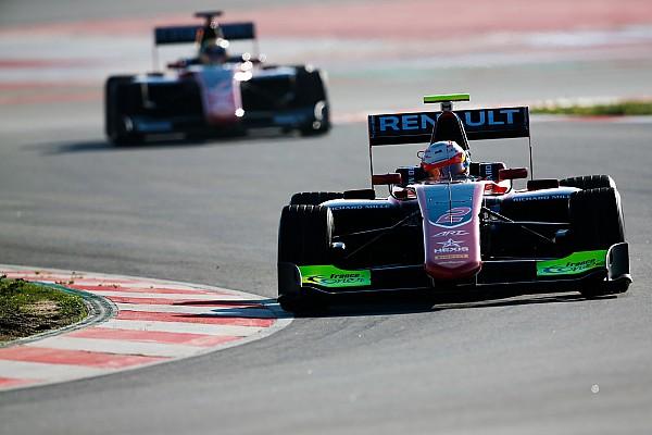 GP3 ART lidera en las pruebas de GP3, con Calderón 7°