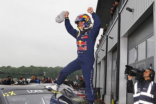 World Rallycross Second succès de Loeb en WRX avec Peugeot