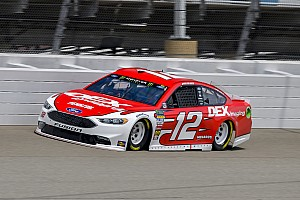 NASCAR Cup Race report Ryan Blaney holds off Larson to take Stage 1 win at Michigan