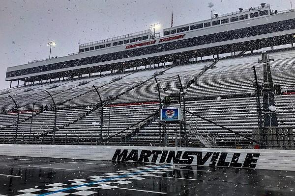 Por la nieve, NASCAR pospone su carrera en Martinsville para el lunes