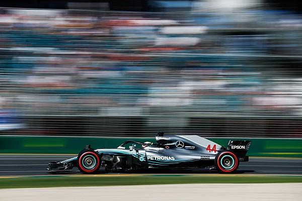 Fórmula 1 Crónica de entrenamientos Hamilton domina también la segunda sesión de libres de F1 en Australia