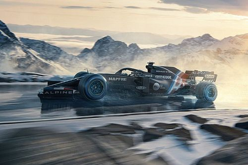 Alpine revela colores provisionales para la F1 2021