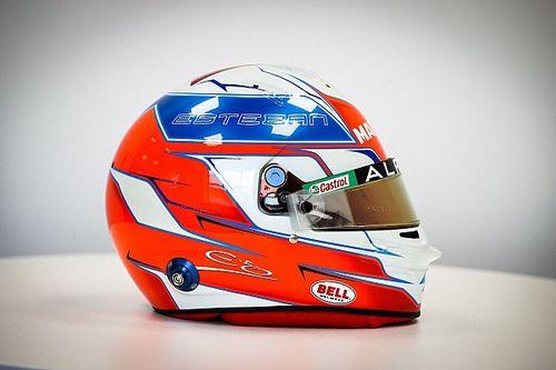 Photos - Le casque d'Esteban Ocon avec Alpine