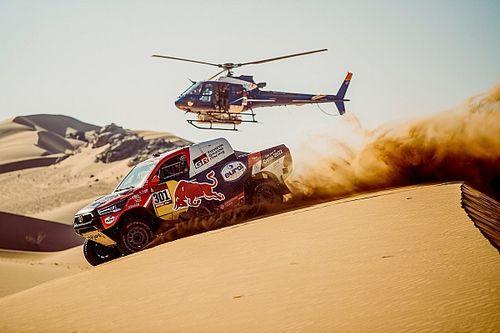 ダカールラリー3日目:トヨタのアル-アティヤが2日連続トップ。総合首位ペテランセルに迫る