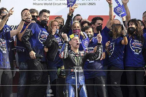 """Quartararo has brought """"positivity"""" to Yamaha MotoGP team"""