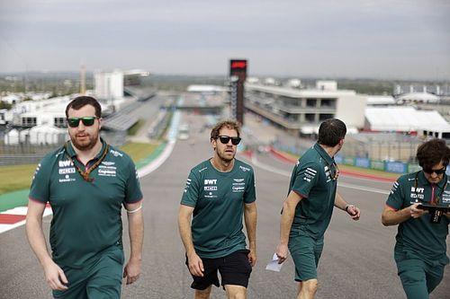 Vettel set to start US GP at the back as Aston Martin plans F1 power unit change