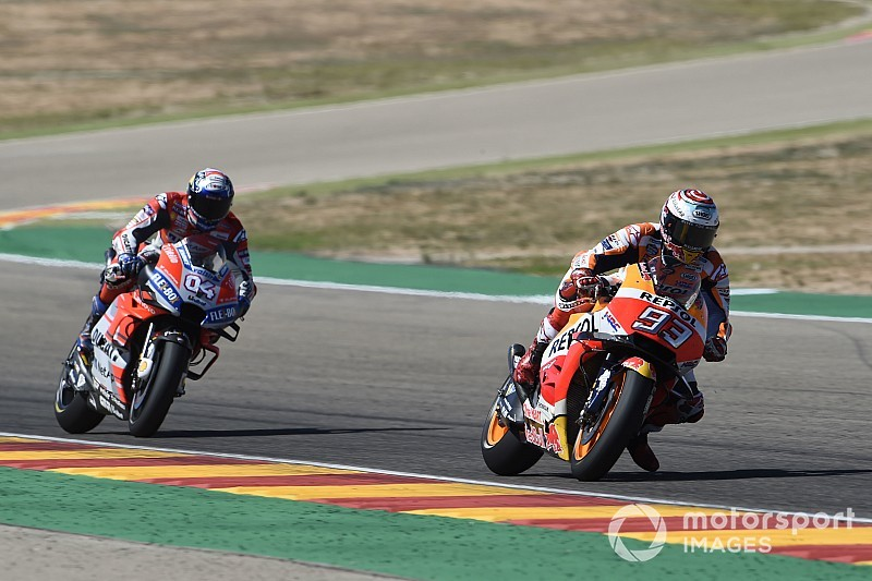 Marc Marquez: Honda hat sich dank Druck von Ducati verbessert