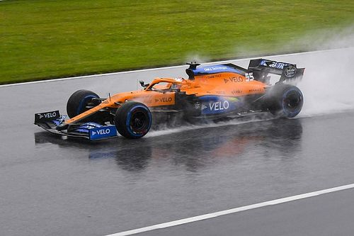 """Sainz admits qualifying was """"very stressful"""" after P3 finish"""
