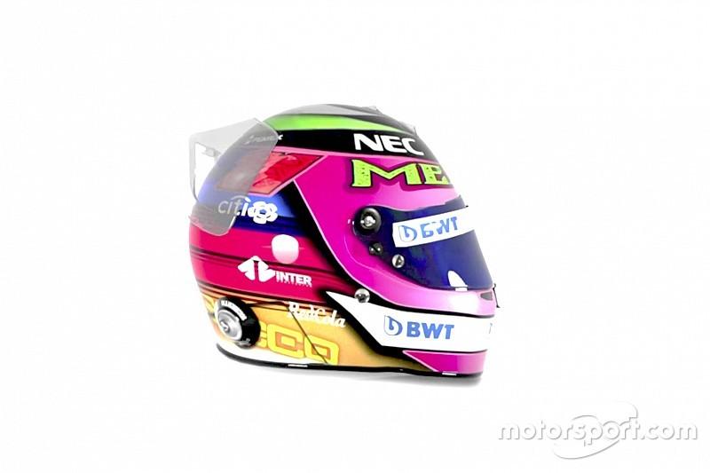 Fotogallery F1: ecco il casco celebrativo di Sergio Perez per il GP del Messico