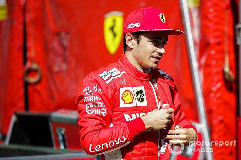 """Vettel não espera """"nada de errado na pista"""" com Leclerc em 2019"""
