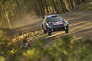 WRC Stage report Finland WRC: Mikkelsen and Tanak share first place in SS1