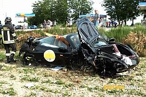 Speciale Ultime notizie Mille Miglia:  grave incidente nel Ferrari Tribute con quattro feriti